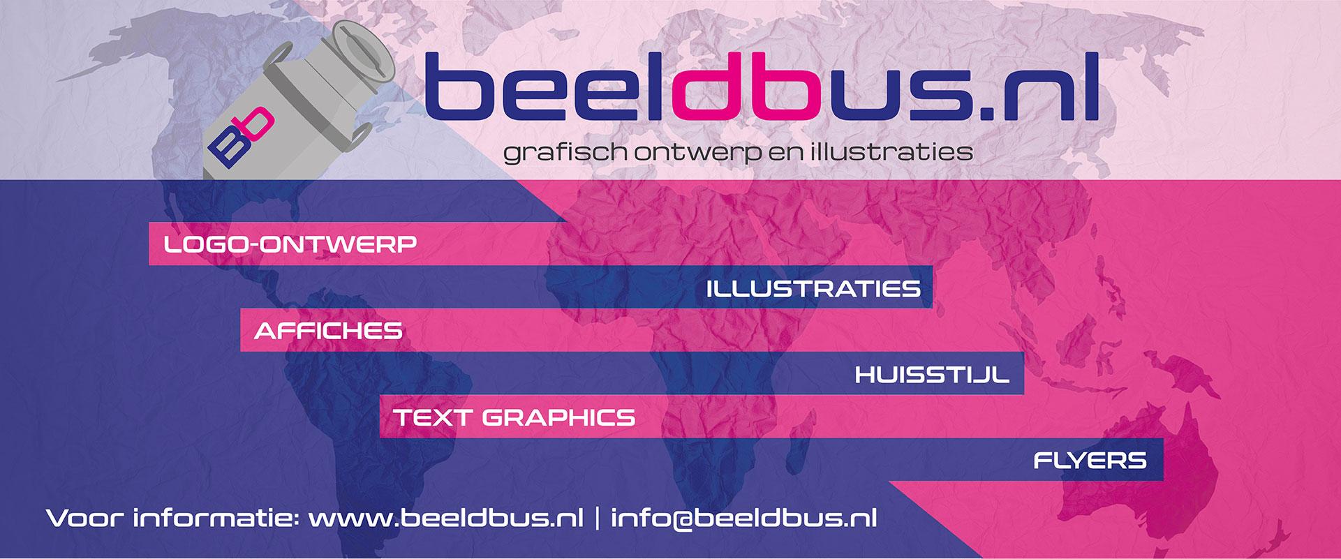Beeldbus.nl   Grafisch ontwerp en illustraties